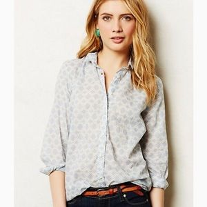 Anthropologie Holding Horses Button Down Shirt 2